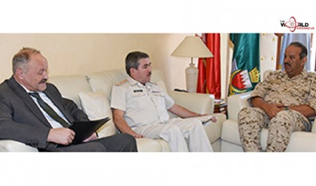 Commander-in-chief receives Russian military attache  | Bahrain | News | WAU