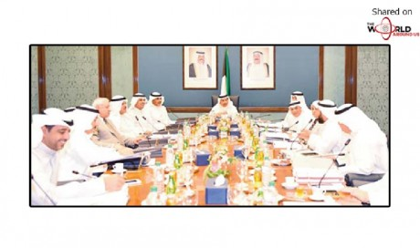 Finance Ministry to handle expat residential project - Cabinet inaugurates 'spokesperson' workshop | Kuwait | News | WAU