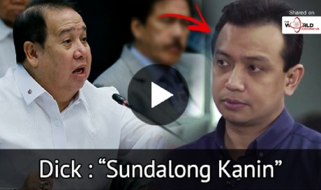 Senator Gordon Fires Shot Against Trillanes, Calls Him 'Sundalong Kanin' | Philippines | News | WAU