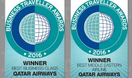 Qatar Airways bags two prestigious awards