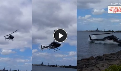 Helicopter Crashes Into Water Near Pearl Harbor !! Exclusive Real Footage, ORIGINAL Eyewitness | Blog | Life | WAU