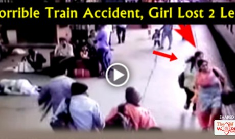 Video: Girl Horrible Train Accident, She Lost Her Two Legs. This Video Will SHOCK You! | Blog | Life | WAU