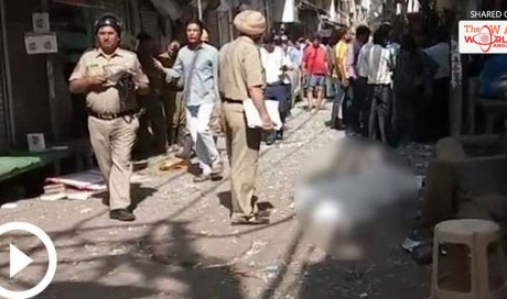 One killed, five injured in blast at Delhi's Chandni Chowk