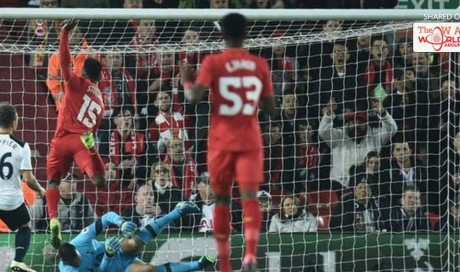 Daniel Sturridge struck twice as Liverpool overcame Tottenham to reach the EFL Cup quarter-finals and extend their unbeaten run to 10 matches.