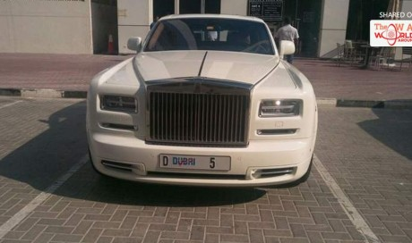 Dubai billionaire's D5 Rolls Royce fined for wrong parking