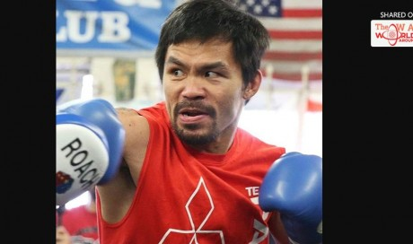 Pacquiao continues to fight because he needs money to help the poor