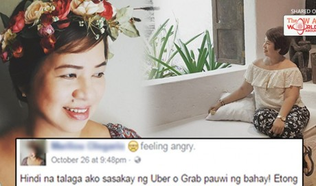 This Woman Will Never Use Grab or Uber Again! The Reason Behind It Will Crack You Up!