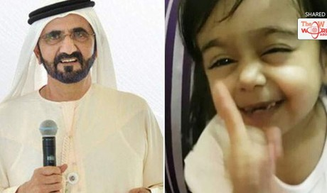 WATCH: Cute girl's imitation of Dubai's Shaikh Mohammed wins his heart
