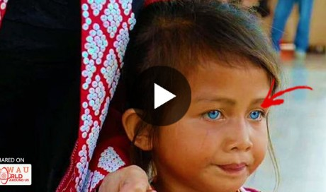 Young Filipina Girl With Blue Eyes? You Won't Believe Your Eyes! | Philippines | WAU