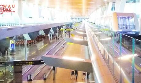 HIA launches dual passenger trains inside terminal