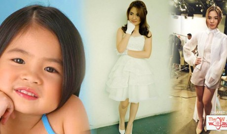 Sharlene Transforms From Being A Cute Kid To A Gorgeous Woman! #6 Is Unbelievable!