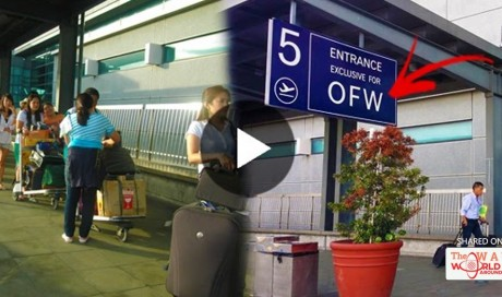 MUST SEE: Exclusive Entrance For OFWs At NAIA! Amazing!