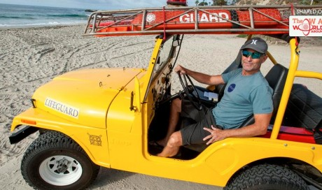 Restored 1974 lifeguard Jeep is a reminder of simpler days in Laguna Beach
