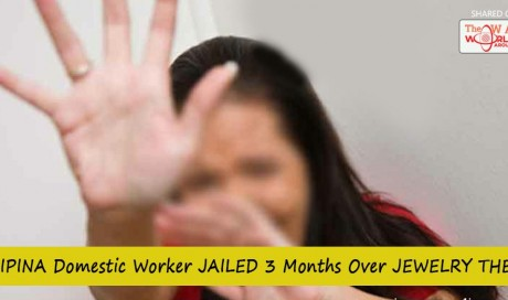 Filipina Domestic Worker Jailed 3 Months Over Jewelry Theft in Hong Kong