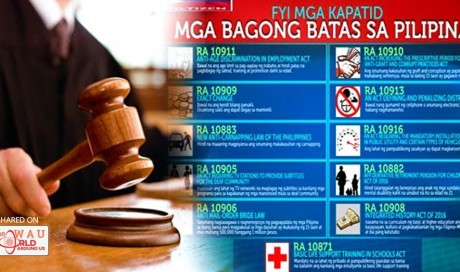 These Are The Newly Implemented Laws That You Should Know About! MUST READ!