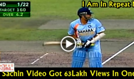 Video: I Am In Repeat Mode, Why Sachin Is Different From Other Crickets Like Virat Or Msd