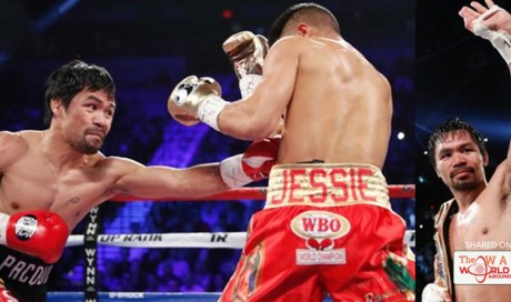 Manny Pacquiao beats Jessie Vargas on points after dramatic return to ring