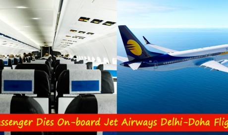 Passenger dies onboard Jet Airways Delhi-Doha flight