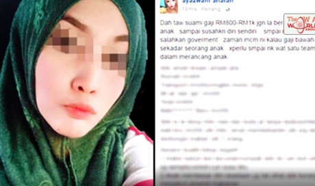 Malaysian Woman Gets Publicly Shamed For Her Thoughts On How Their Country Is Falling Apart Due To An Inflating Population!