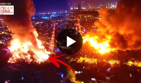 SHOCKING: Massive Fire In Mandaluyong City Was Raised To Fifth Alarm!
