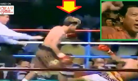 Old Video of Duterte Cheering at Ringside in 2002 Pacquiao Fight Goes Viral... He's Definitely a Big Fan!