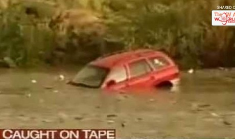 Woman Drowning In Her SUV Is Miraculously Saved. You Wouldn't Believe Who Saved Her!