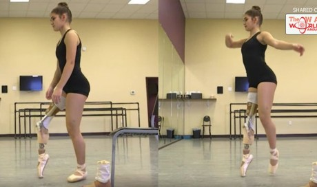 This 15-Year-Old Amputee Ballerina Made an Incredible Comeback After Cancer