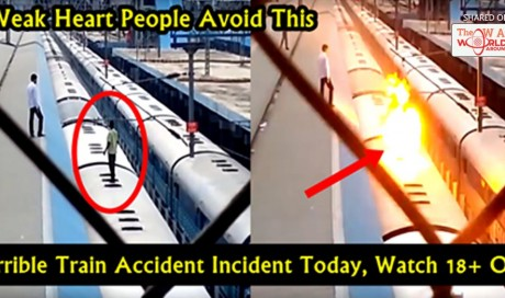Today An Ugly Incident Happened In Indian Railway Station
