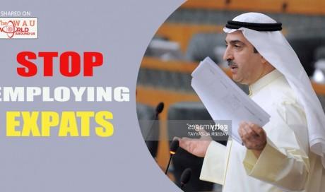 Stop employing expatriates