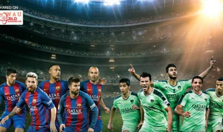 Tickets now on sale for FC Barcelona Versus Al-Ahli SC In Qatar Airways' match of champions in Doha