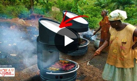 Amazing! Solar-Powered Barbecue Can Cook Meals Even At Night!