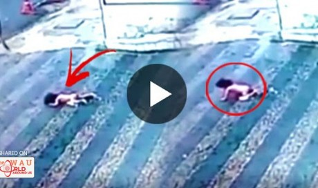 Miraculous: A Child Stood Up After Falling From A Building! Watch This!