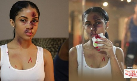 Powerful Pictures Of A Woman Depict The Brutality Of Domestic Violence