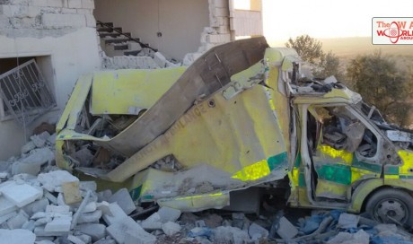 Another OBGYN hospital destroyed in Syria's Aleppo