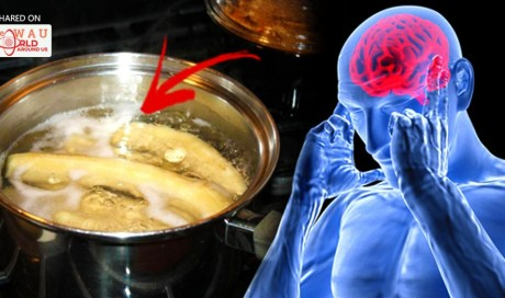 Drink The Liquid Of Unpeeled Boiled Bananas And You Will Be Amazed Of What Happens When You Sleep!