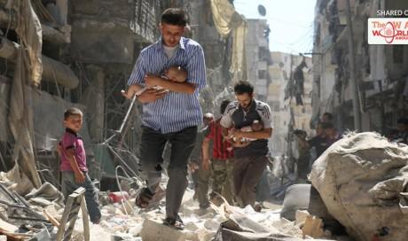 UN: 16,000 displaced in Syria's Aleppo