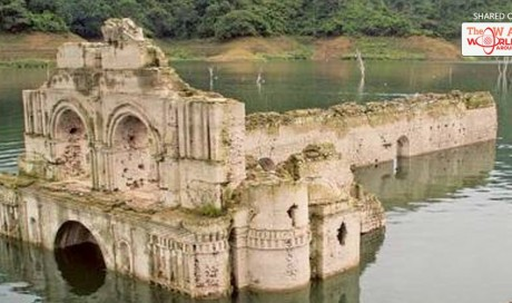 16th century church emerges from water in Mexico