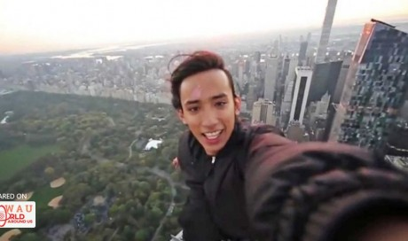 Teen who climbed World Trade Center faces new stunt charges