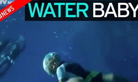 This 3-year-old is the Youngest Freediver in the World and He Can Hold His Breath 10m underwater!