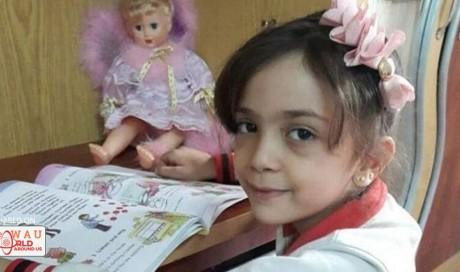 Syrian Twitter girl safe amid heavy bombing