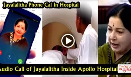 Jayalalithaa's Audio Tape From Hospital Goes Viral