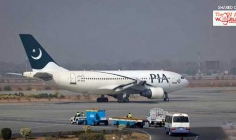 PIA flight's engine catches fire in Multan