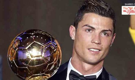 Cristiano Ronaldo voted best in the world, wins fourth Ballon d'Or award