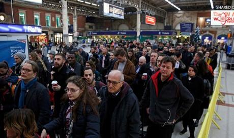 Worst rail strike in decades' hits British commuters