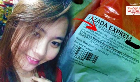 Lazada Girl Becomes Instant Online Sensation Because Of Her Unique Way Of Writing Down Her Address!