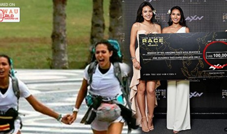 Pinay Beauty Queens Maggie Wilson and Parul Shah Won Amazing Race Asia's Grand Prize!