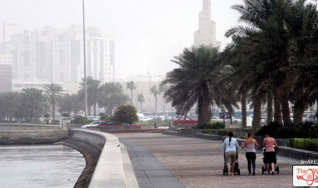 Qatar Temperature to touch 15C Monday