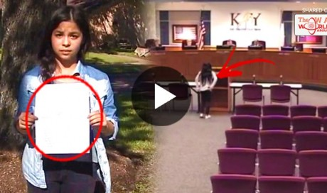 This 7th Grader Was Asked By Her Teacher To Deny God's Existence But What She DID IS Truly Shocking! MUST WATCH!
