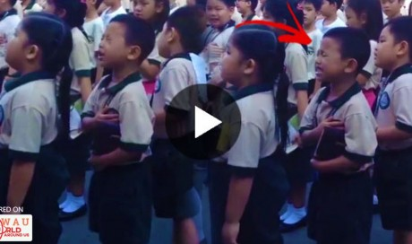 WATCH: A 5 Year Old Child Passionately Singing Lupang Hinirang Will Capture Your Hearts! This Is So Rare!