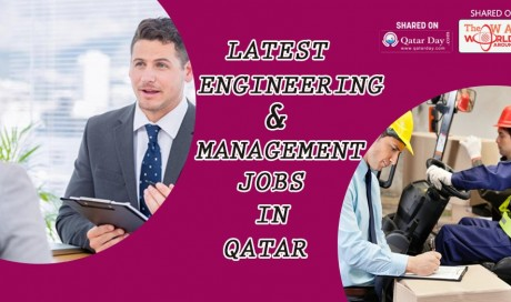 Find here with Latest Management & Engineering Jobs Available In Qatar